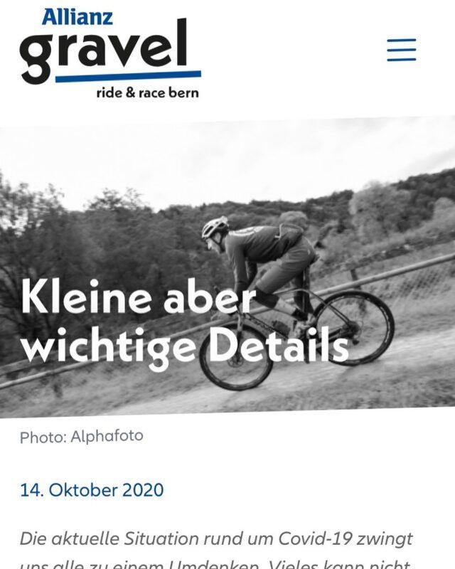 Bitte besuche unsere Website! Wichtige Infos für alle Teilnehmenden 👇🏼 ▶️ www.ridegravel.ch