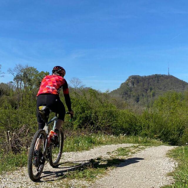Finally!  Sun, blue sky and summer time! ☀️ 🏖 🚵🏻♂️😍 Enjoy your (gravel) rides! 🎉 #gravel #mountainbike #gravelracing #gravellove #gravelcycling #gravelgrinder #gravellife #unpavedapproved #cycling #cyclinglife #cyclinglifestyle #bern #allianz #allianzversicherung