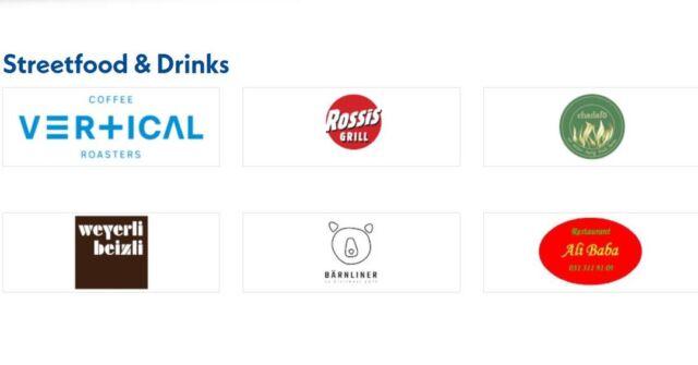 Allianz Gravel Ride & Race Bern heisst auch: Gut essen und trinken! 😋 Wir freuen uns auf tolle Foodtrucks, besten Kaffee von Vertical Coffee und kühles Bier von der @brauereifelsenau! 🍻
